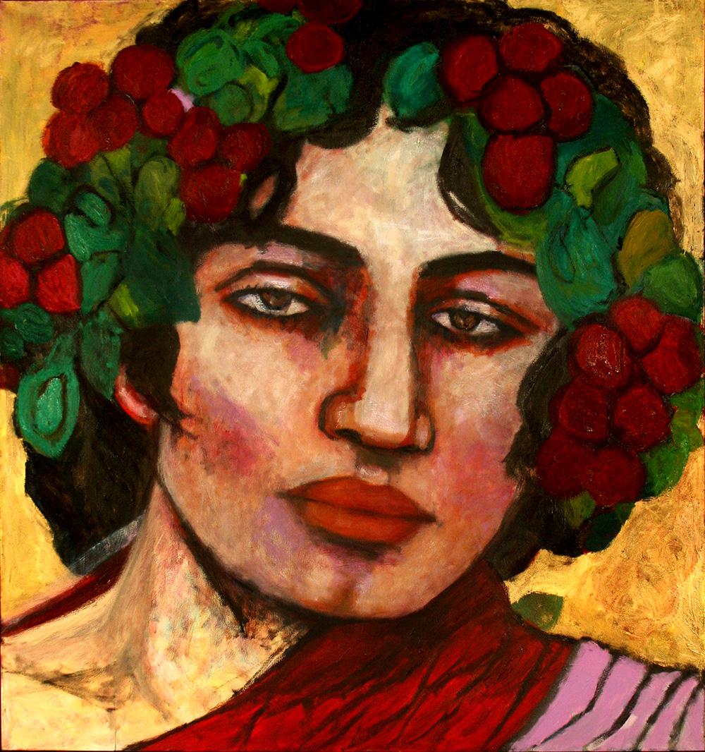 Bacchus   -  170cm x 160cm,Oil on Canvas