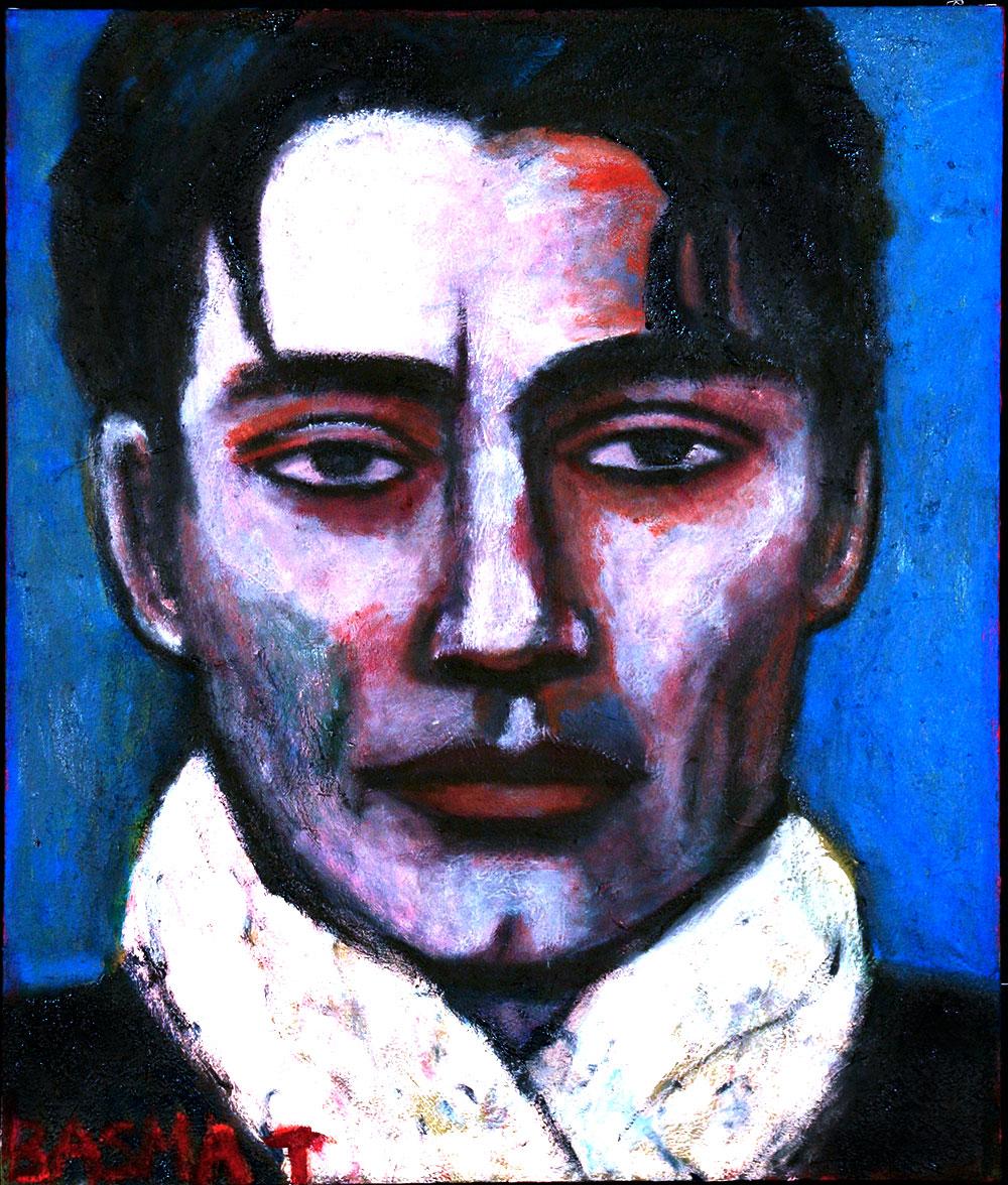Peter   -  102cm x 68cm,Oil on Canvas