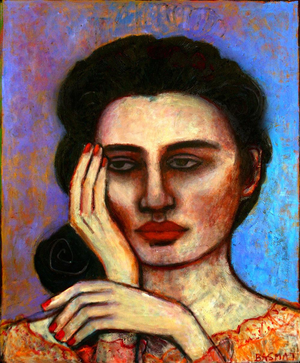 Ella   -  203cm x 168cm,Oil on Canvas