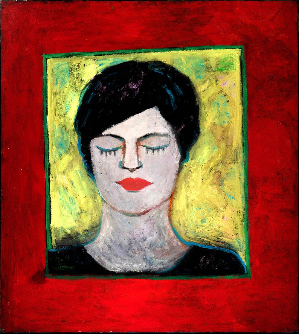 Mariagrazia   -  170cm x 160cm,Oil on Canvas