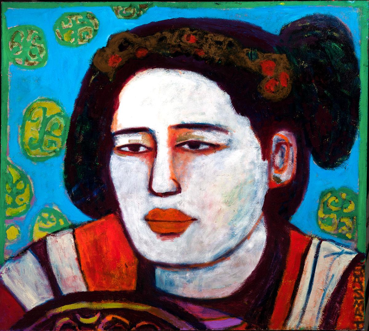 Tang Dynasty #11  - 140cm x 150cm, Oil on Canvas