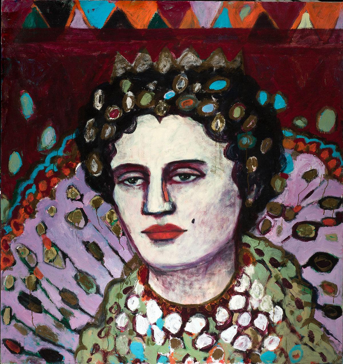 Elisabeth   -  160cm x 170cm,Oil on Canvas