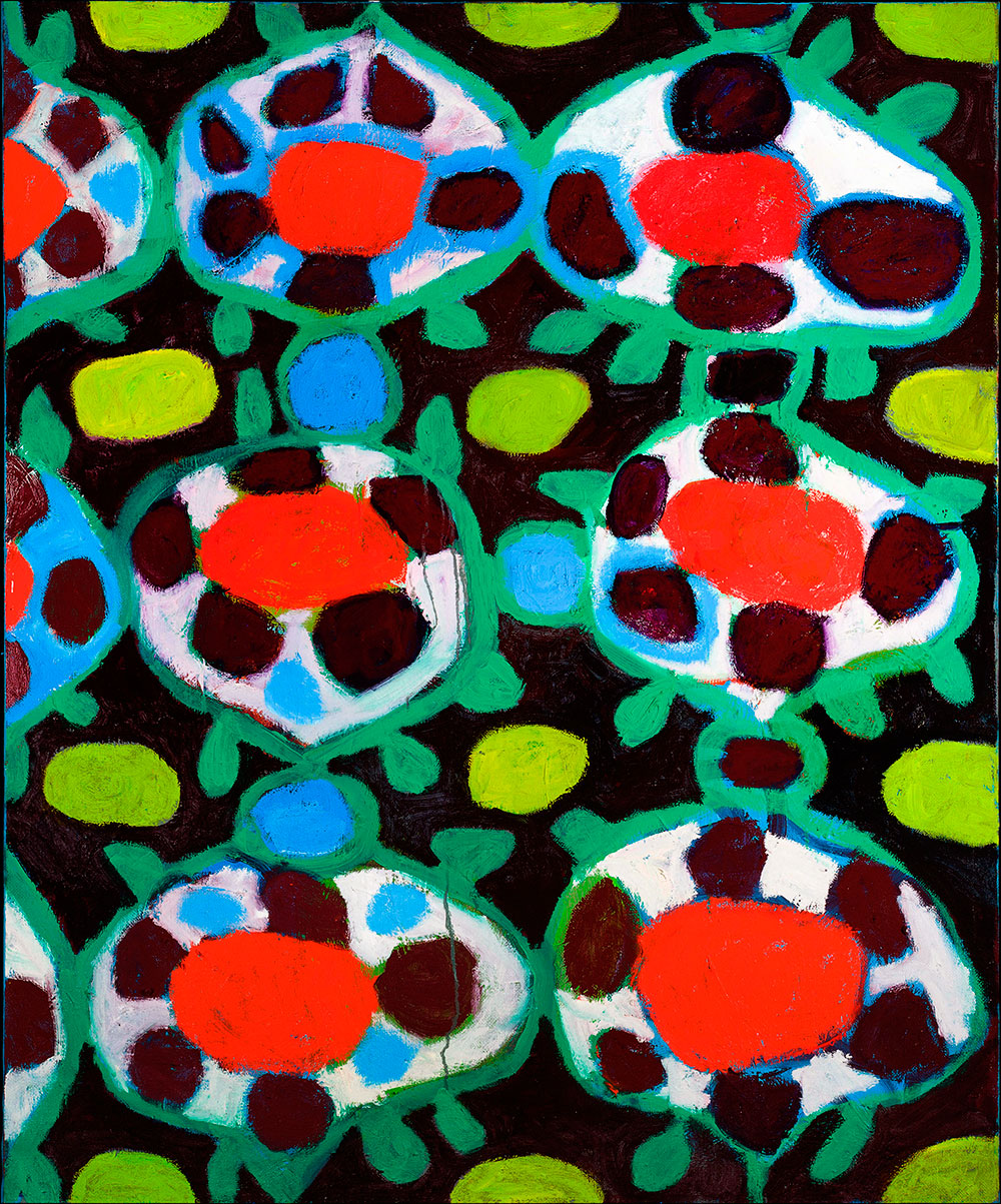 Pattern #40    -   80cm x 130cm, Oil on Canvas