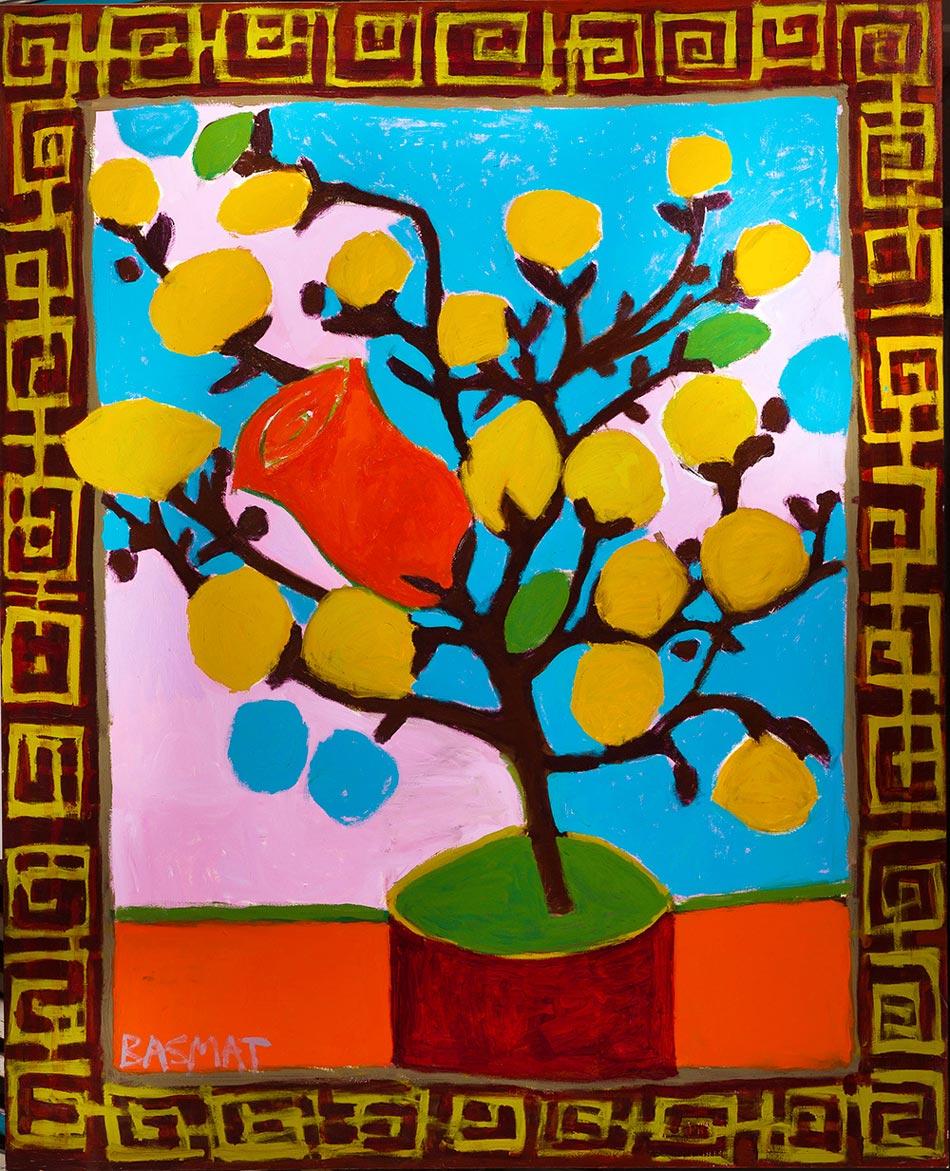 Flowers #2   -  230cm x 174cm,Oil on Canvas