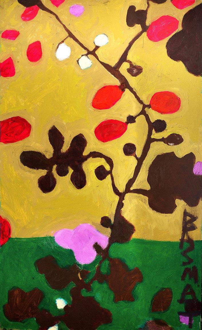 Flowers #23   -  130cm x 80cm,Oil on Canvas