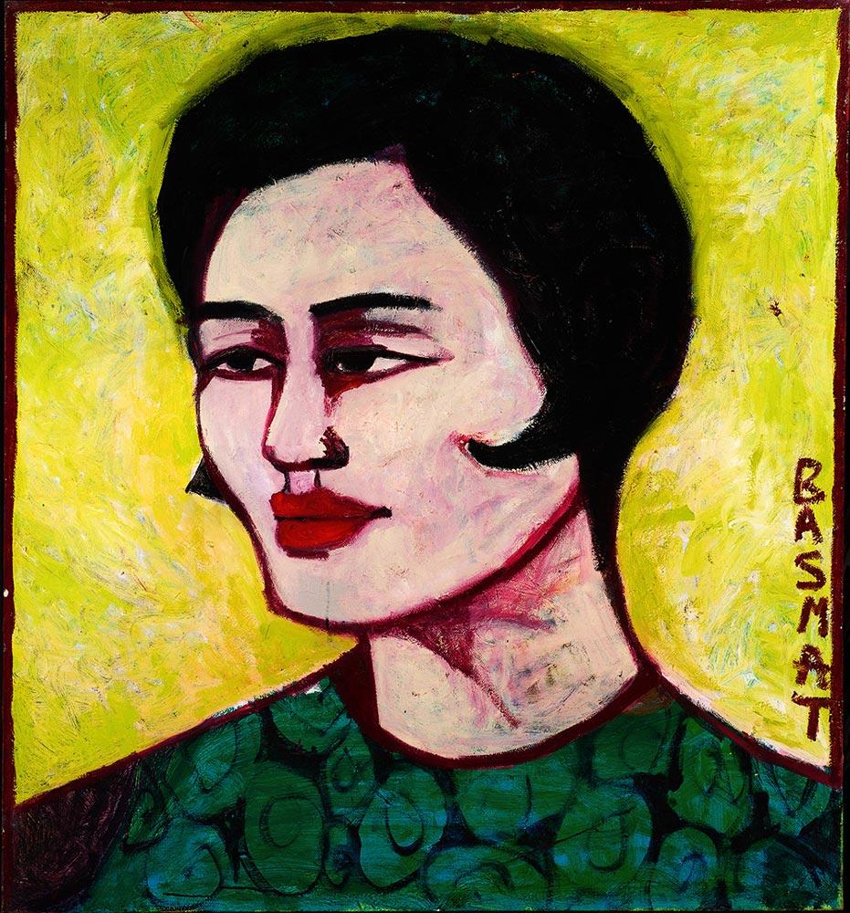 Lili   -  130cm x 120cm,Oil on Canvas