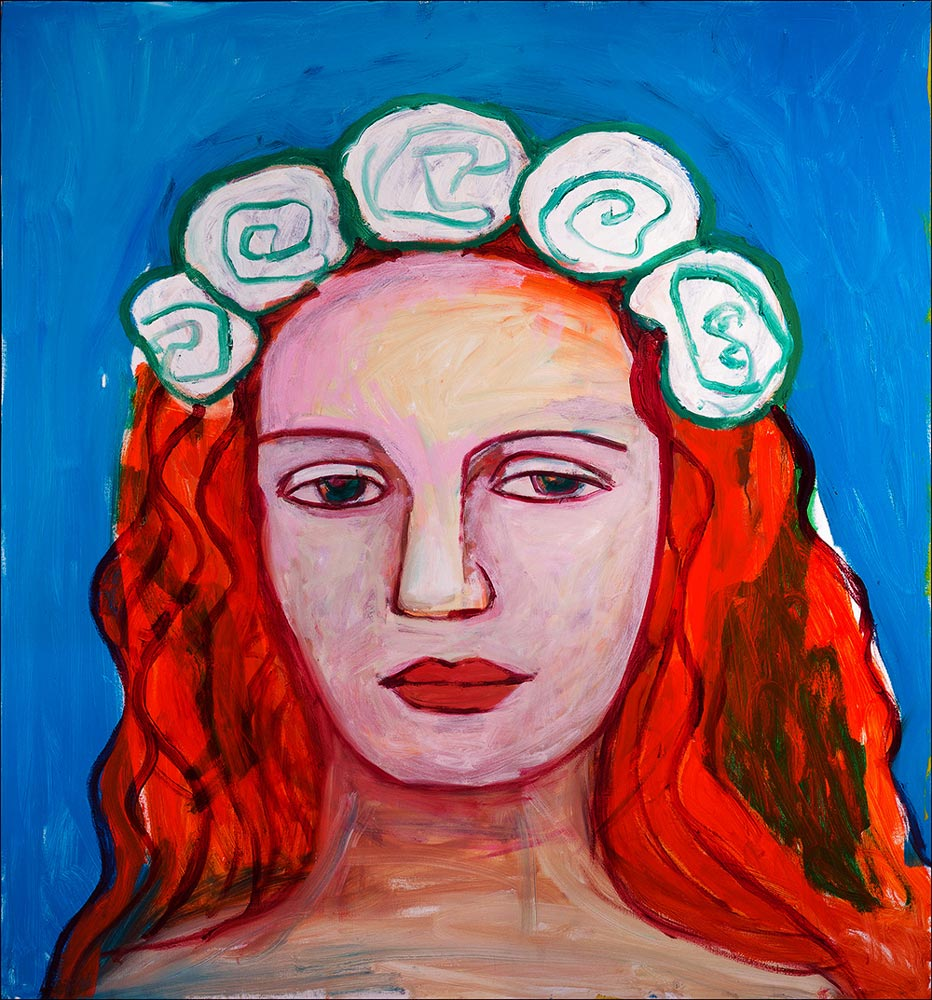 Mira   -  150cm x 140cm,Oil on Canvas