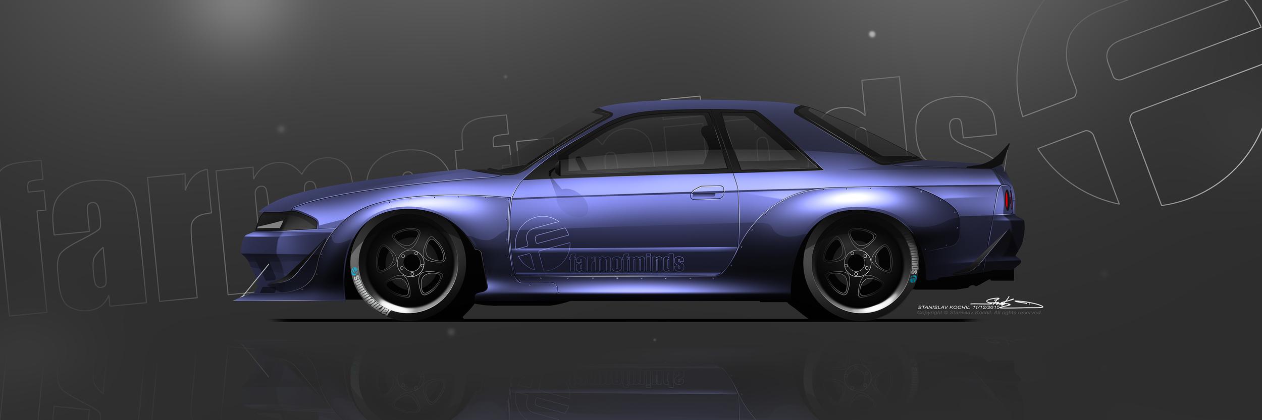 FOM R32 GTR Wide Body, Vision.