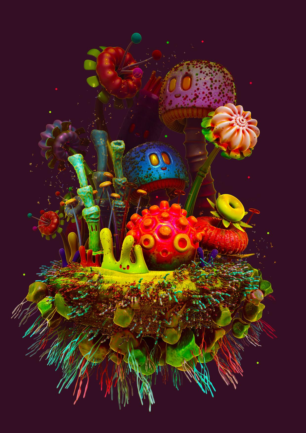 plants colour