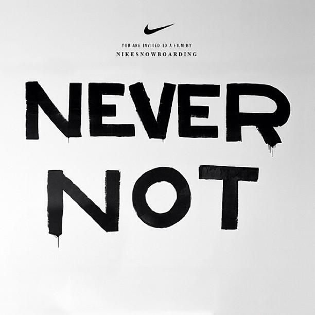 Nike NeverNot