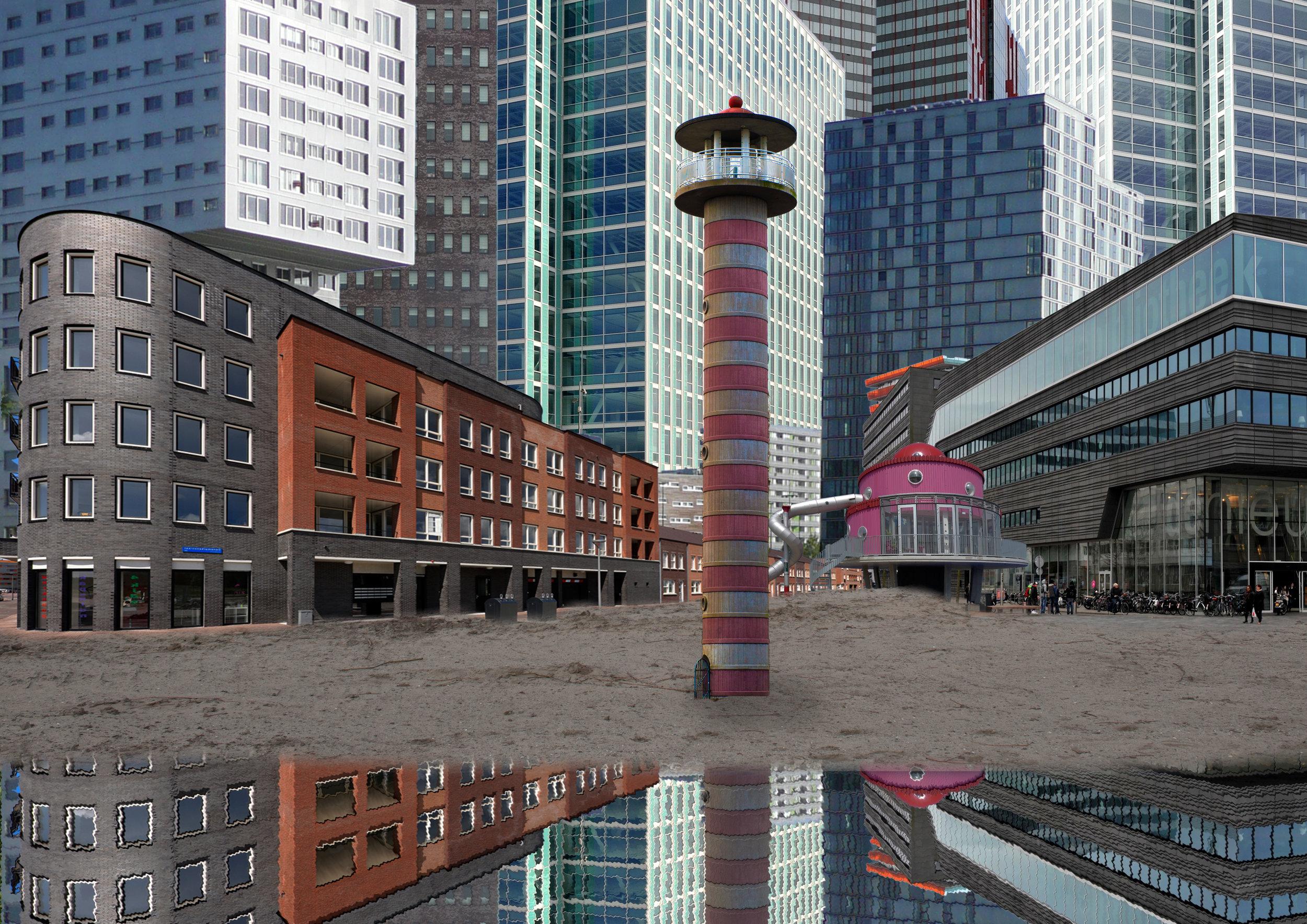 Publiciteitsbeeld theatertocht & festival OVER/ZICHT,door Fotolinie (www.fotolinie.nl)