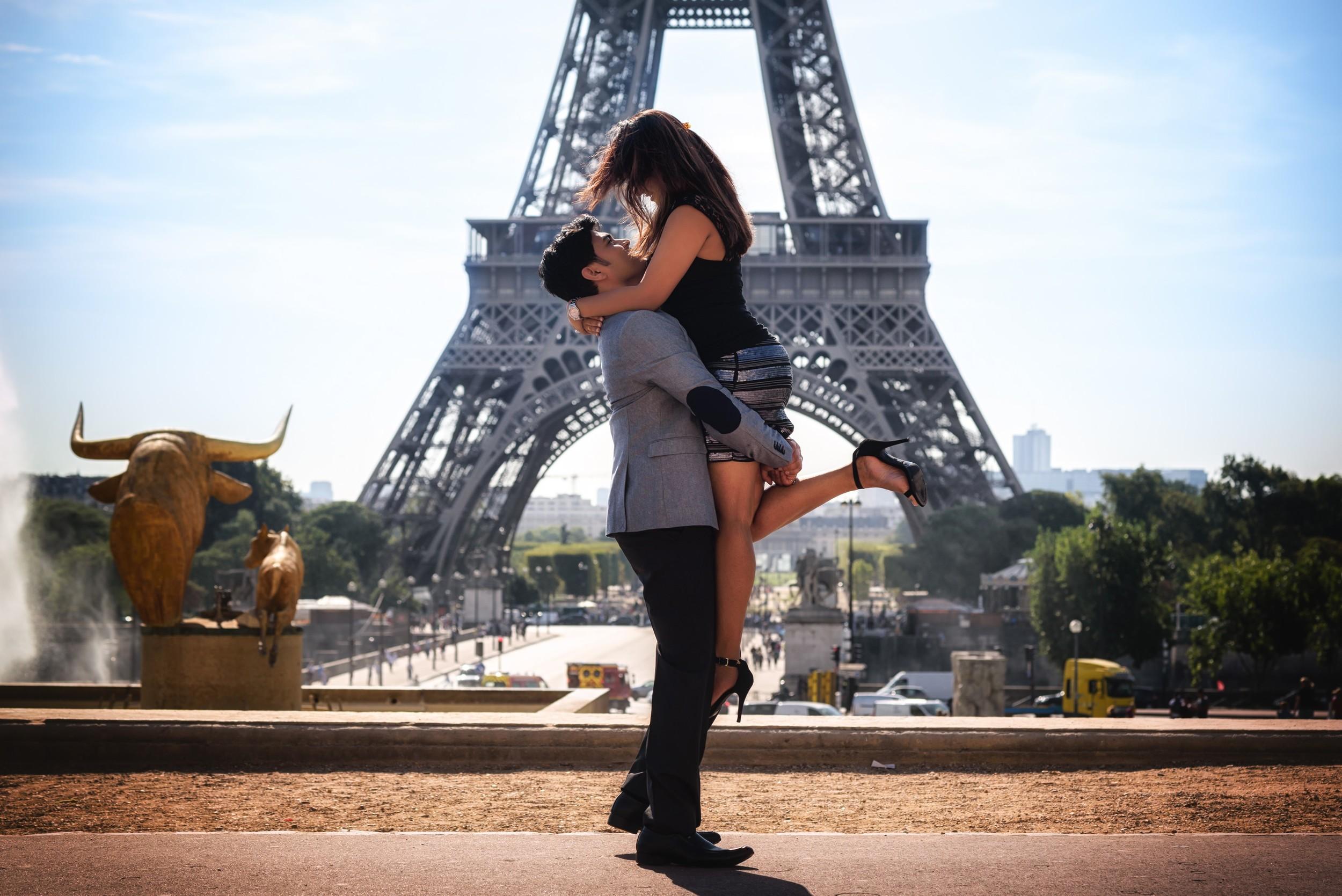 Romantic photography Paris 2