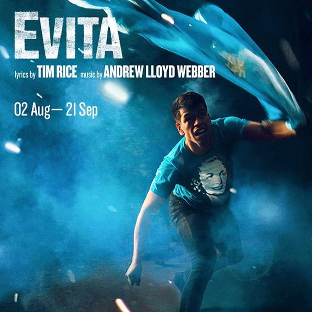 1st day of rehearsals for EVITA @regentsparkoat - music call down and its sounding incredible. 💪🔥😍 #london #actor #dancer #singer #hwpo