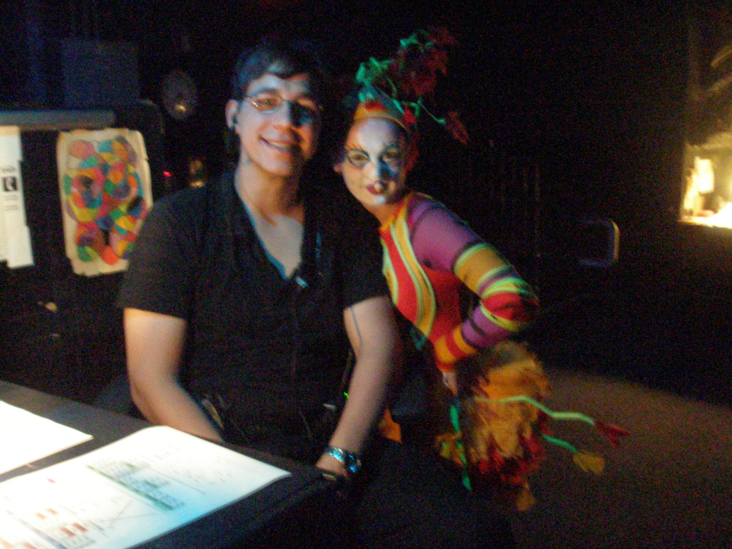 fROM MY LAST NIGHT WORKING AT cIRQUE DU sOLEIL: lA nOUBA.