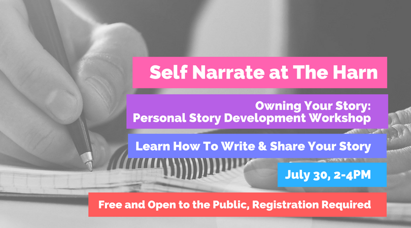 Self Narrate WORKSHOP at The Harn.png