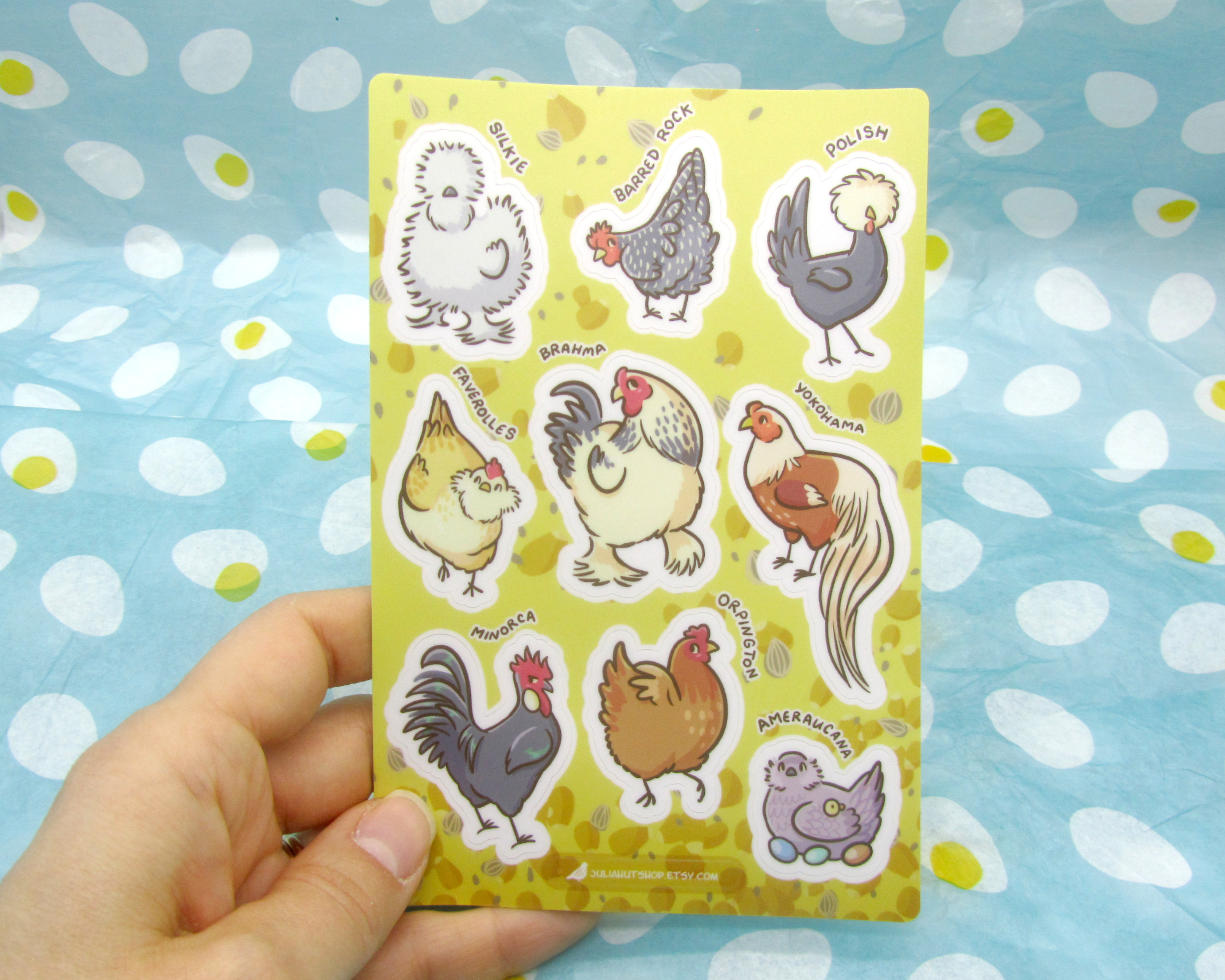 Chicken stickers