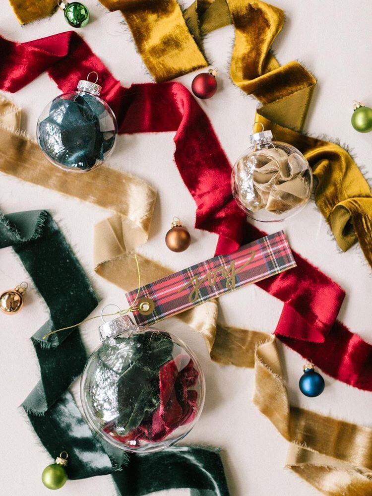 Winter Silk Velvet Ribbons Design Inspirations