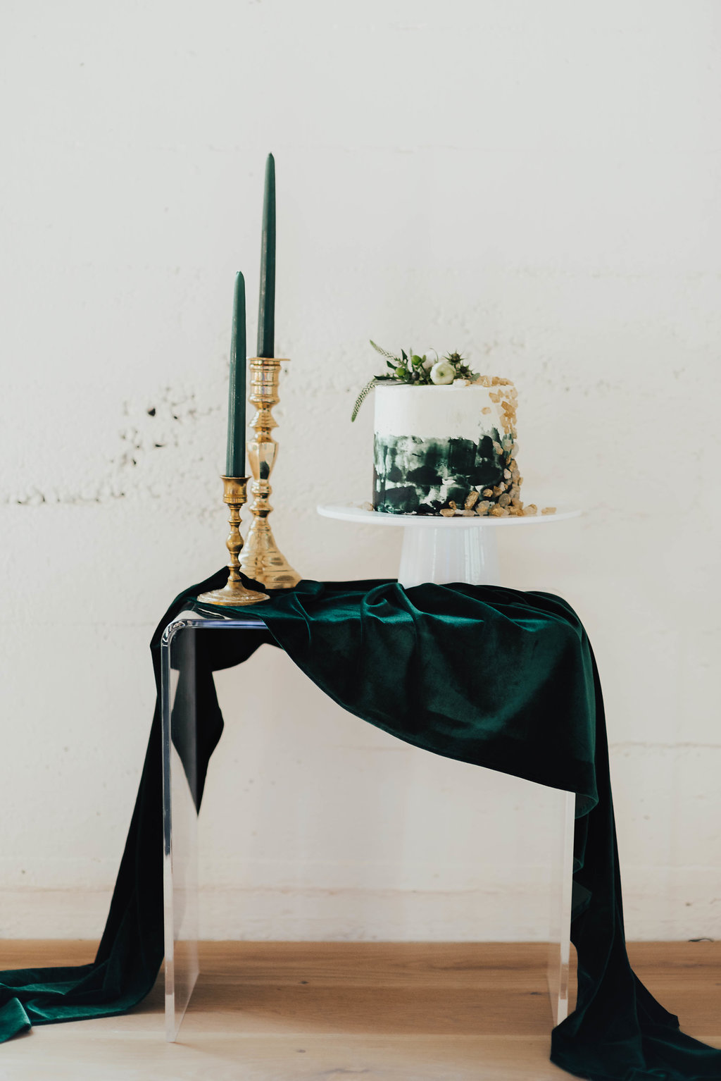 Elegant Velvet table runners for wedding cake tables and event tablescapes