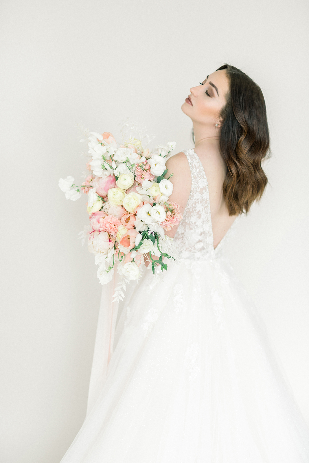 Wedding Gown and Bridal hairstyle ideas for 2019