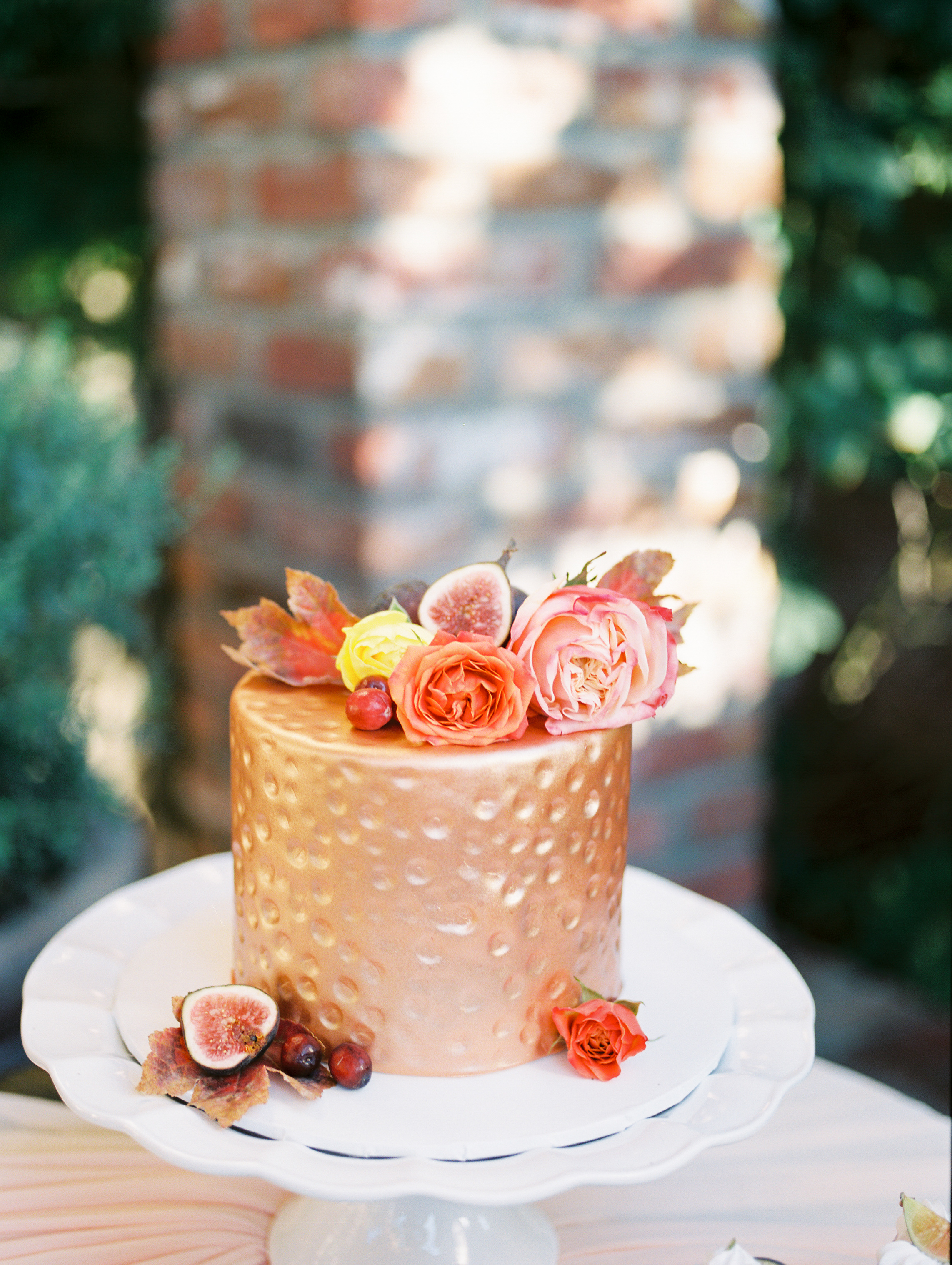 Fall Wedding 2019 Pretty Wedding cake design idea