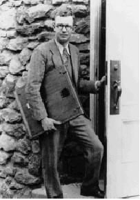 Figure 3. A young Clyde Tombaugh at the Lowell Observatory ca. 1931. Image Credit: New Mexico State University Library Archives