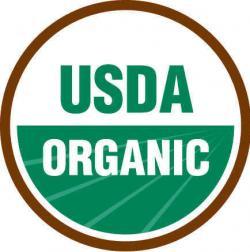 Figure 1. The USDA certified organic logo.