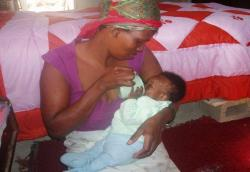 Millions of HIV positive women in developing countries face the desperate dilemma- breastfeed their babies and risk HIV transmission or give infant formula and risk illness and possible death from diarrhea and other diseases