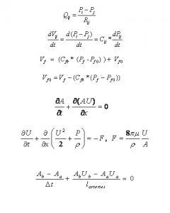 Equations 1-7