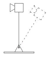 Figure 1. Inverted pendulum system.