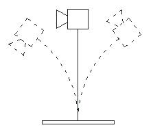 Figure 4. Resonant blade system.
