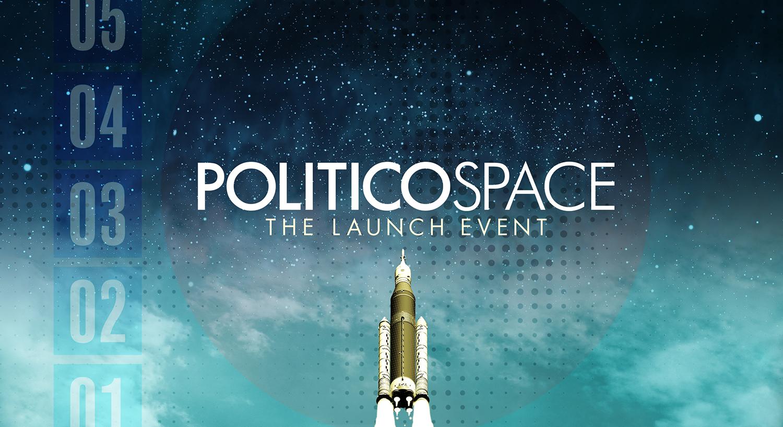 Politico Space 2018 - Email Invite Graphic