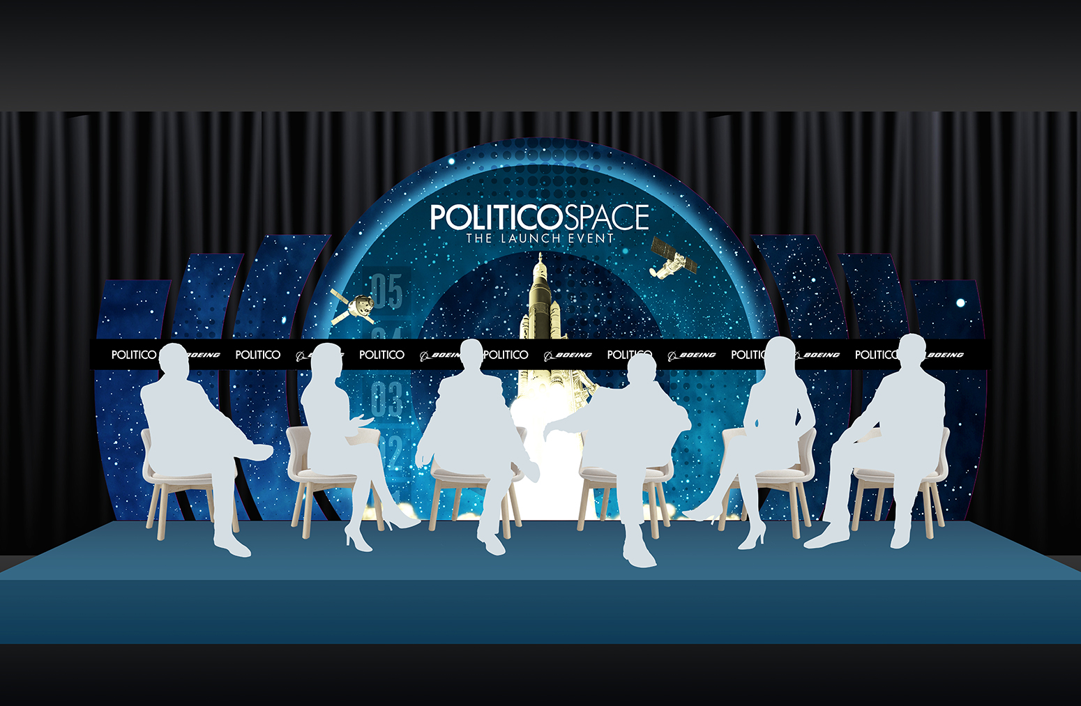 Politico Space 2018 - Stage Backdrop Mock-Up