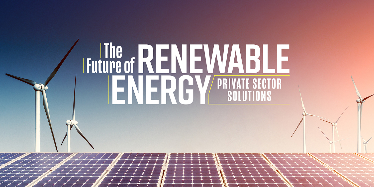The Future of Renewable Energy 2018 - Email Invite Graphic