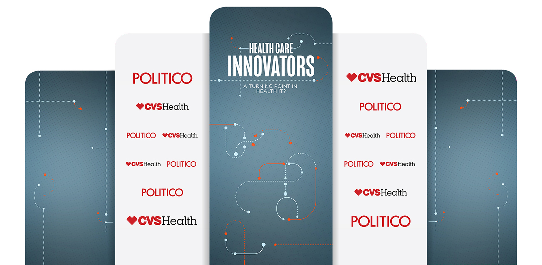 Health Care Innovators Series 2018 - Stage Backdrop Mock-Up
