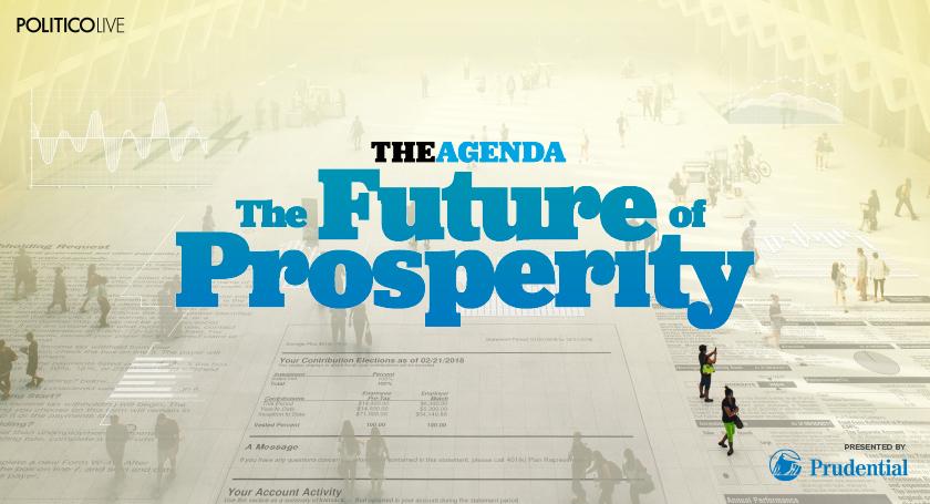 The Agenda - The Future of Prosperity Series 2018 - Email Invite Graphic