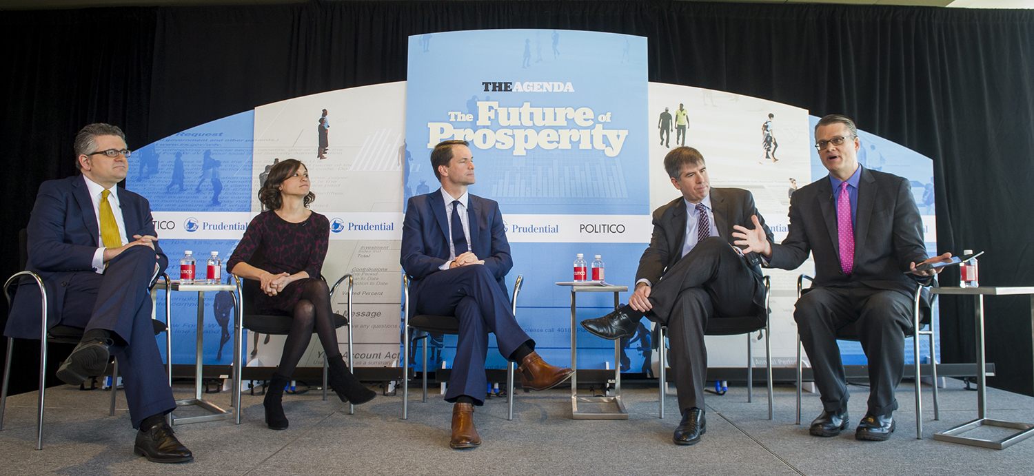 The Agenda - The Future of Prosperity Series 2018 - live event photograph by Rod Lamkey Jr.