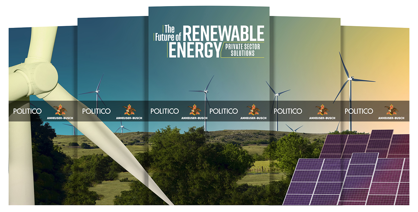 The Future of Renewable Energy 2018 - Stage Backdrop Mock-Up