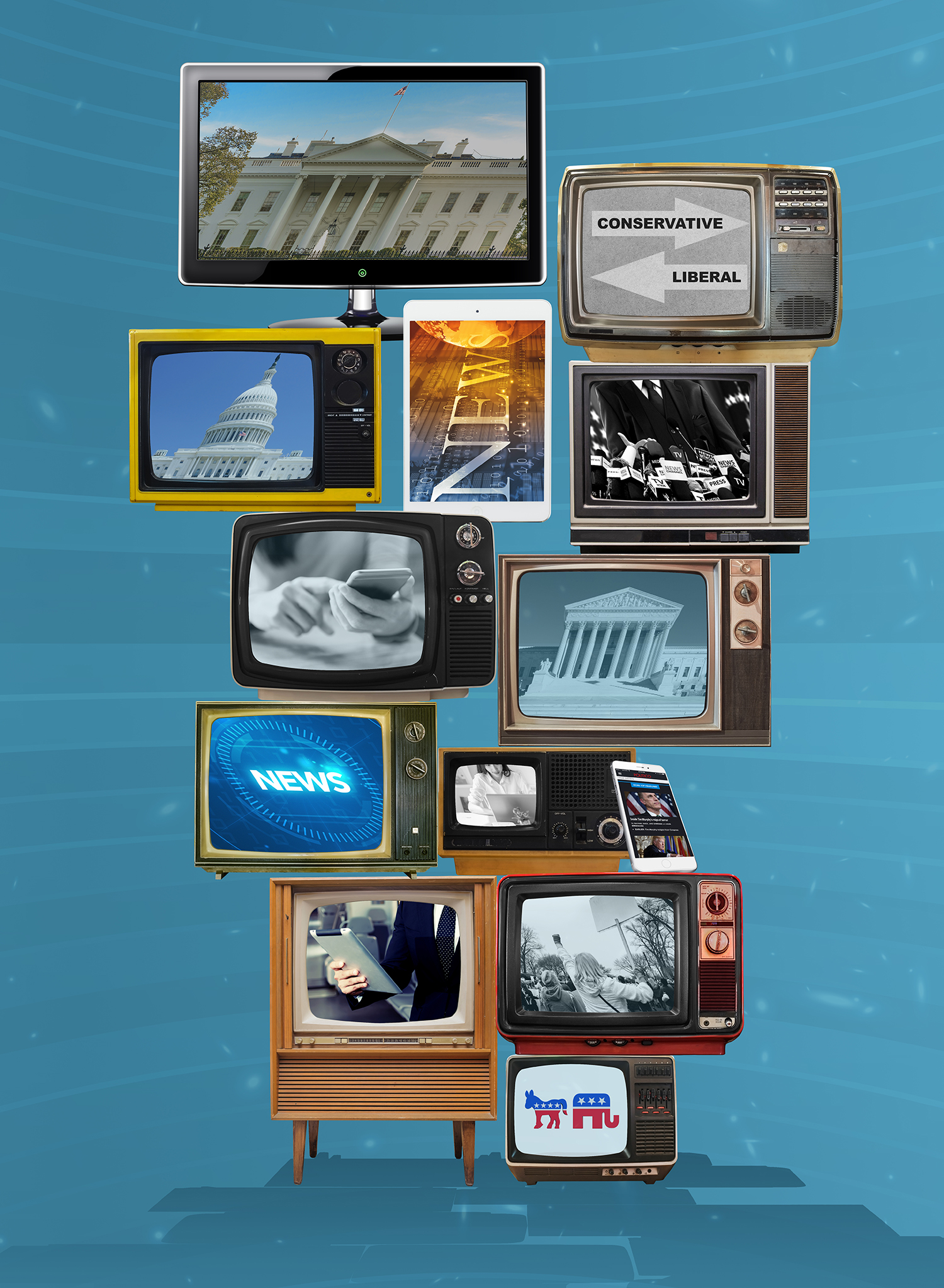 Composite for Golden Age of Television event