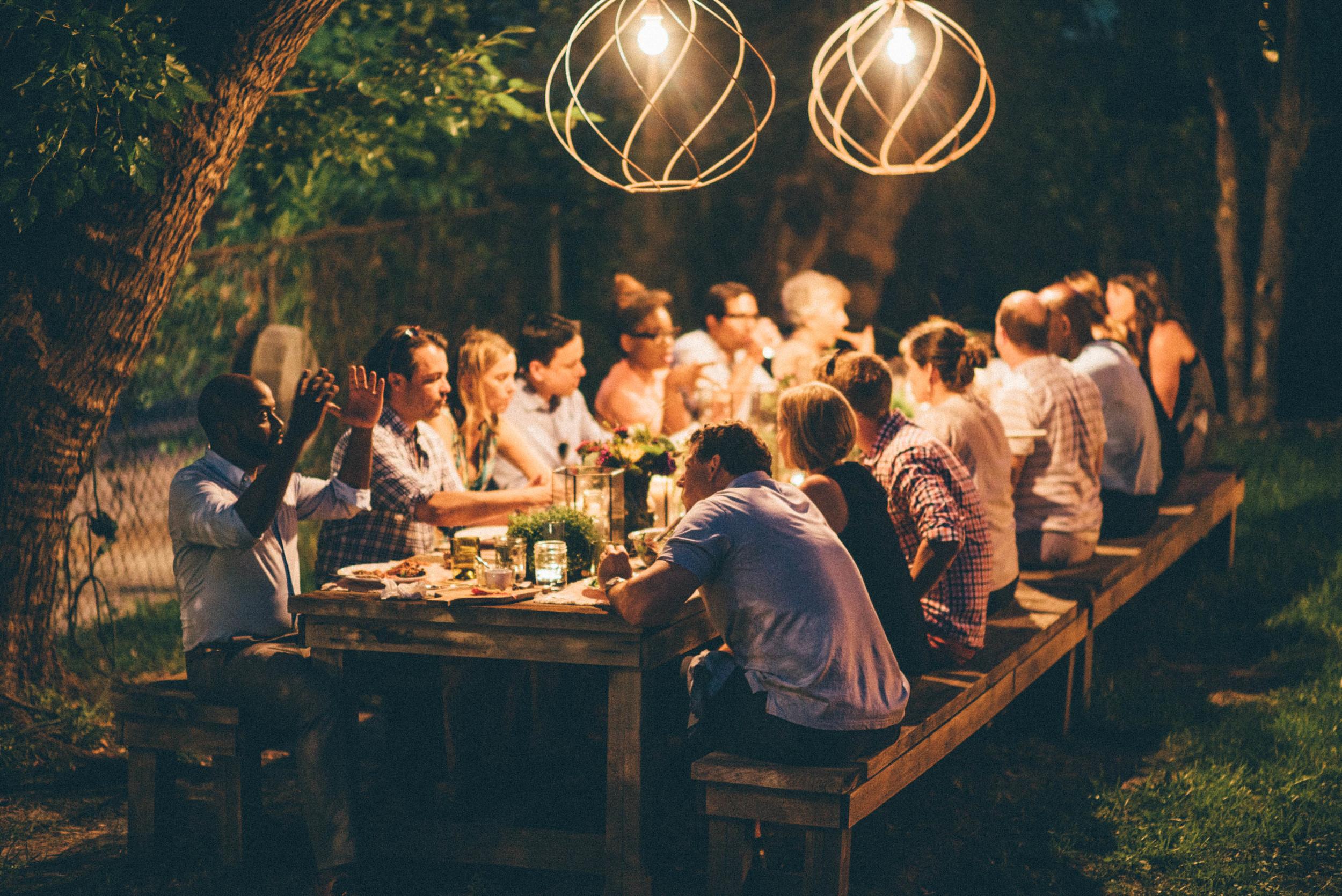 Neighbor's Table Party // Photo by Neighbor's Table
