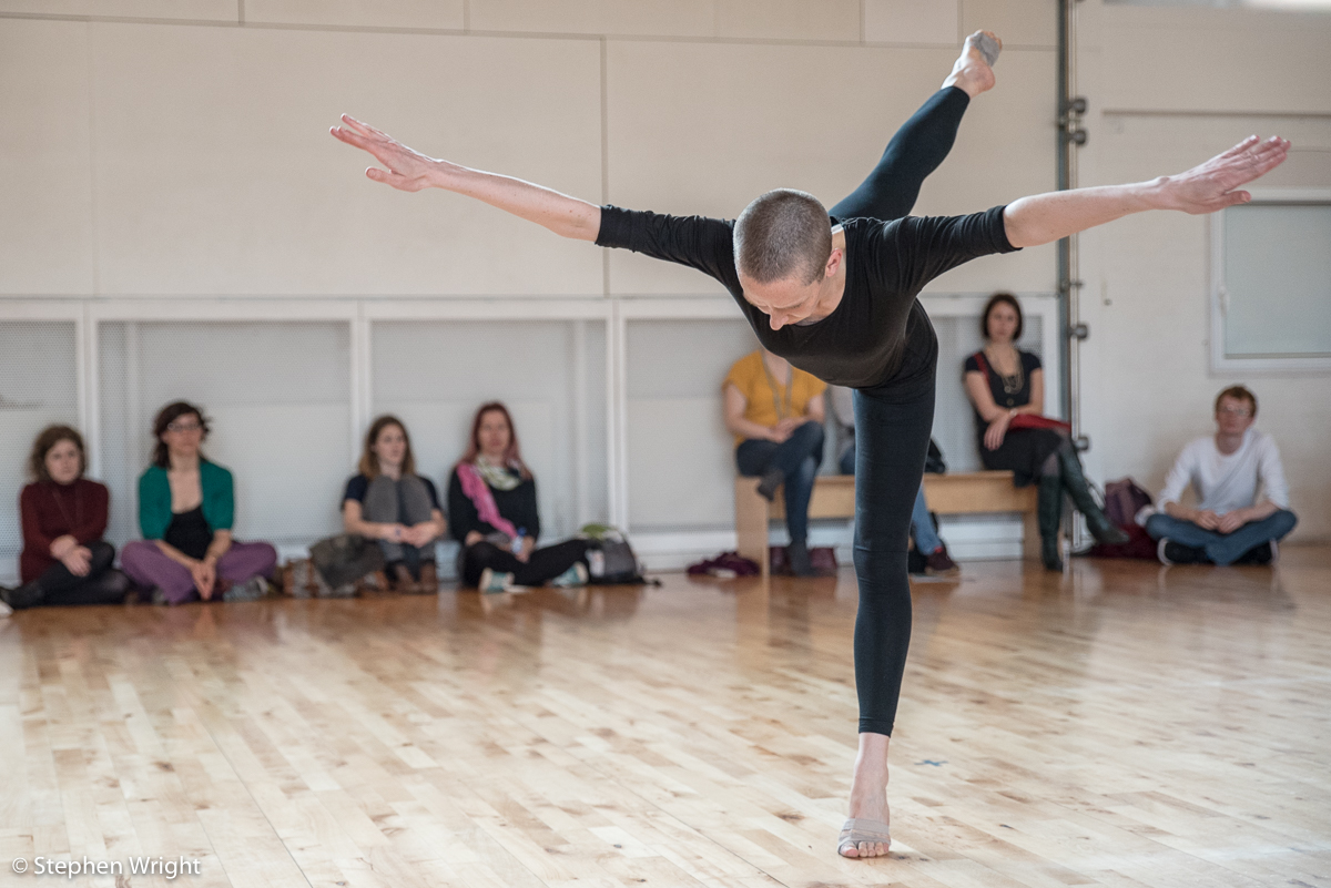 We shall see the sky  by  Julie Cunningham  performed as part of  What Remains… Anatomy of an Artist  at  Siobhan Davies Studios .