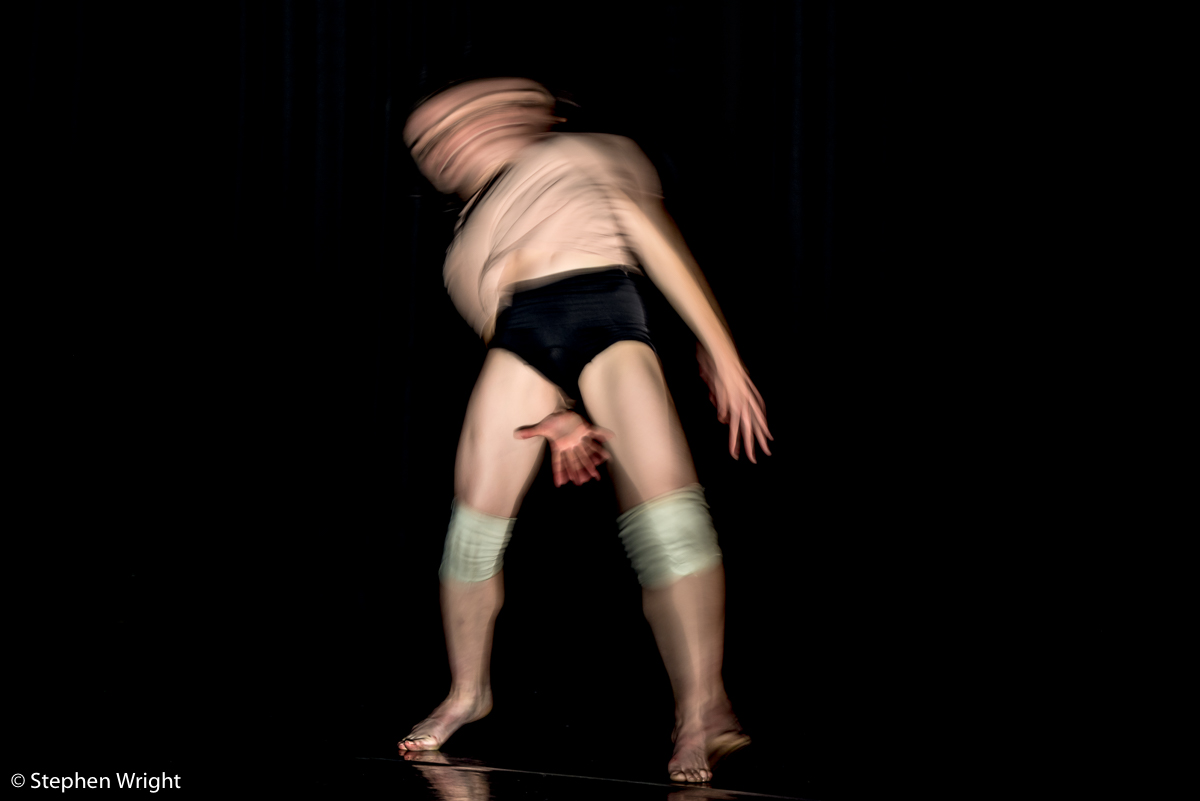 Vessel , choreographed by  Nadia Iftkhar  for  Company Of Others  and performed by  Sophie Hutchinson .