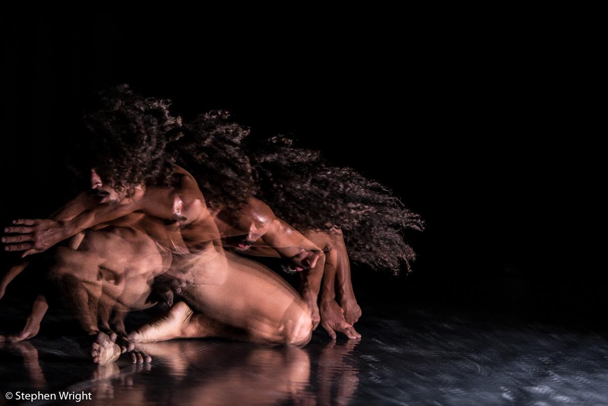 Jefta Tanate  performing in  Yonder  for  Generale Oost  choreographed by  Jasper van Luijk  & Jefta Tanate .