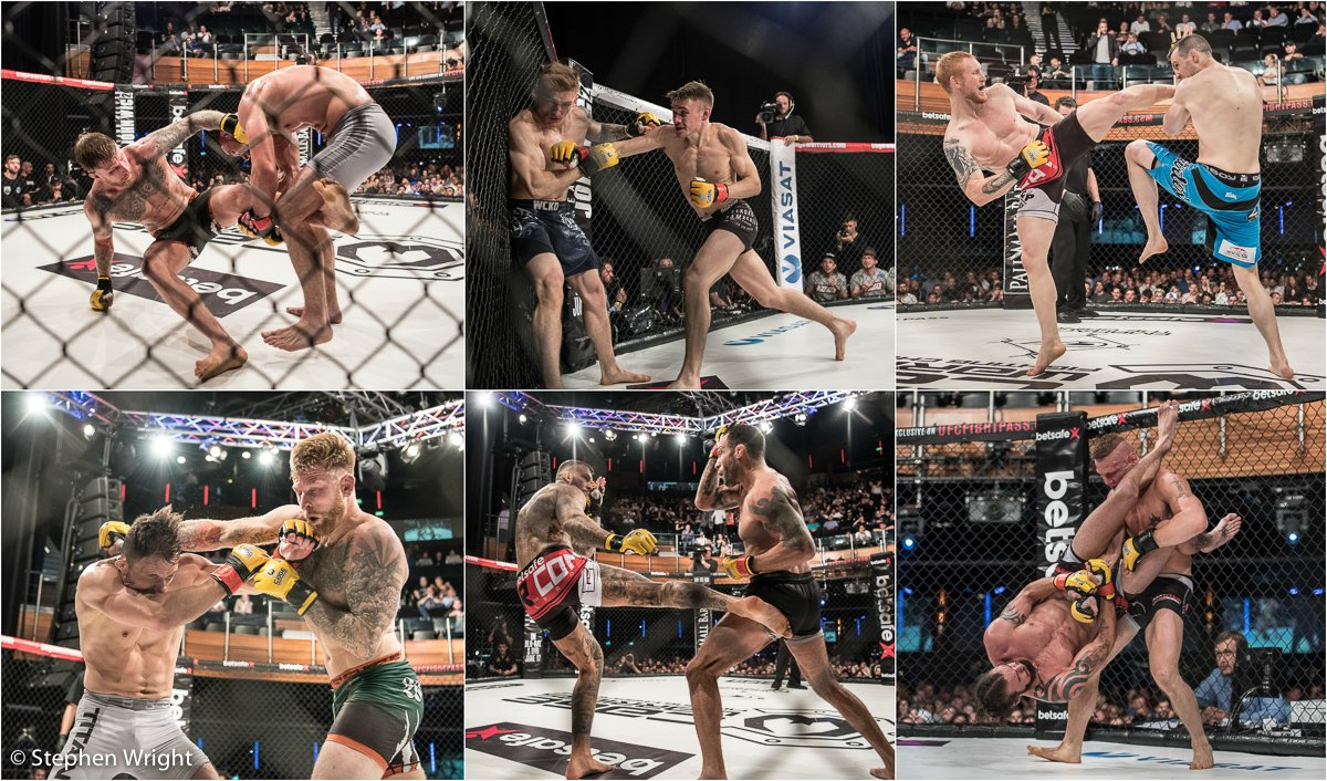 Cage Warriors 84 , a night of mixed martial arts at the  indigo at the O2 .