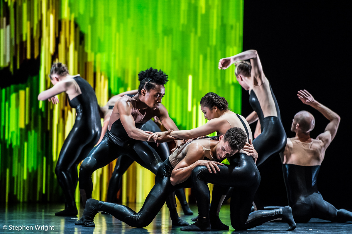 Alexander Whitley Dance Company  performing  8 Minutes  at  Sadler's Wells .