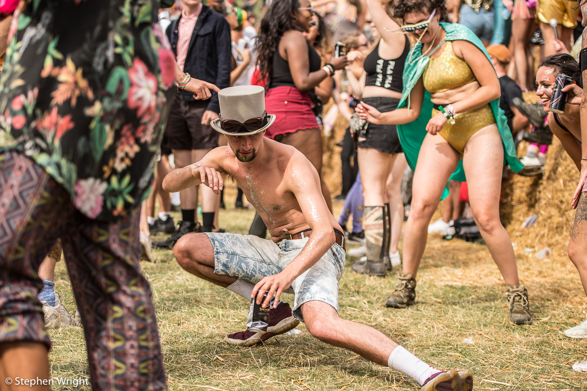 Festival-goers enjoying the final ever  Secret Garden Party !