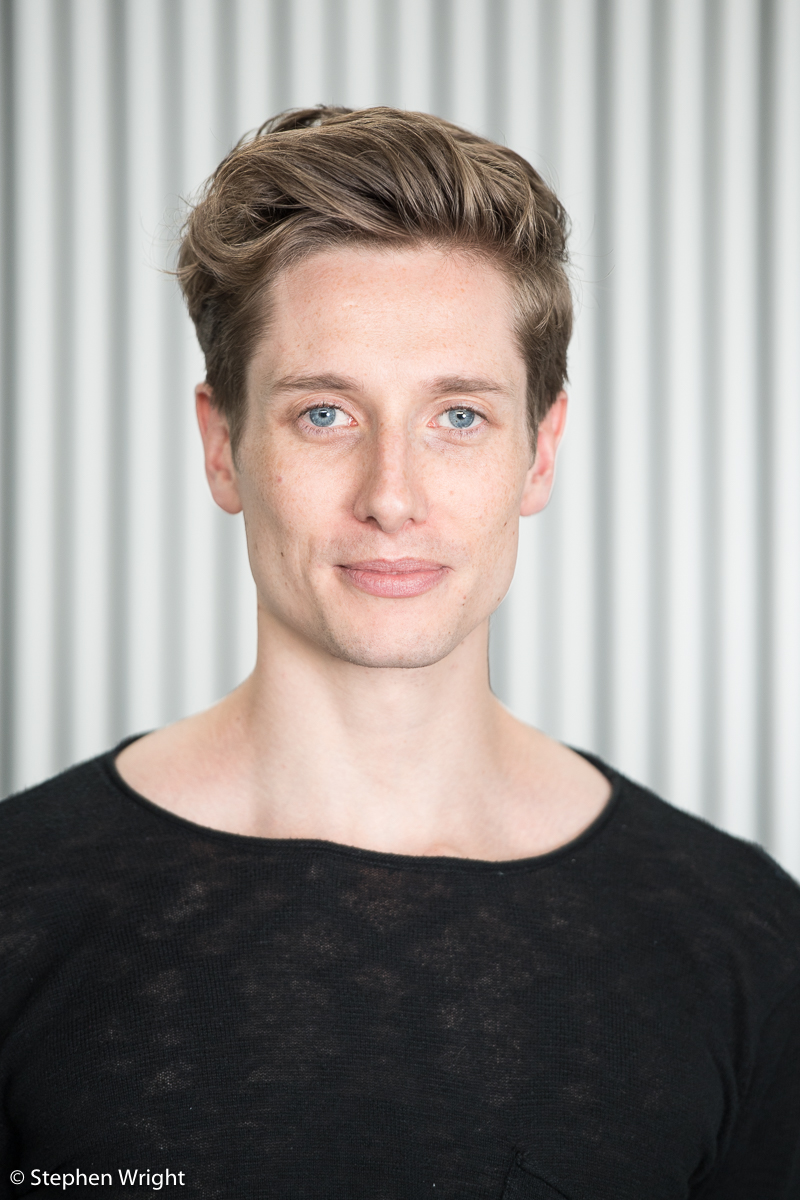 Headshot session with  Daniel Davidson  of  Rambert  company.
