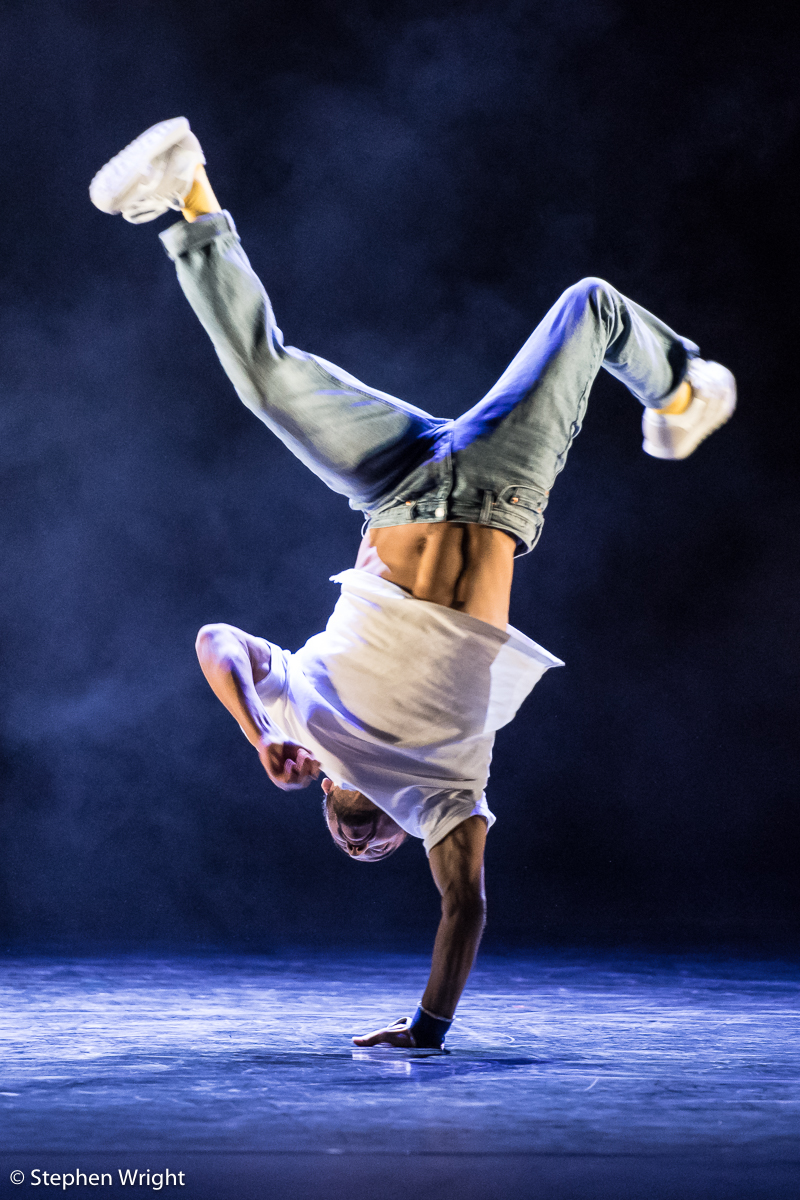 French b-boy  crew, Yeah Yellow perform as part of  Sadler's Wells Sampled.