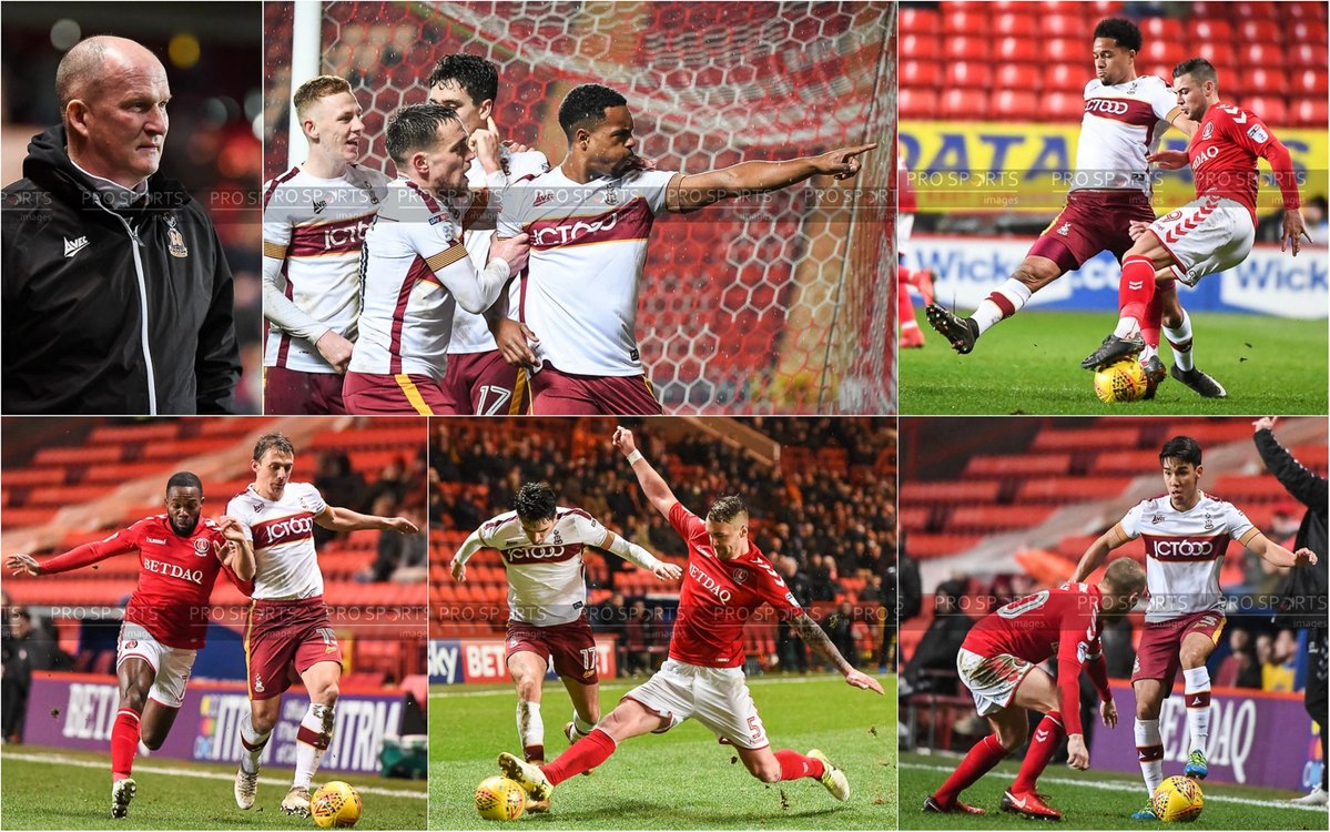 Images from Charlton Athletic vs Bradford City on assignment for  Pro Sports Images .