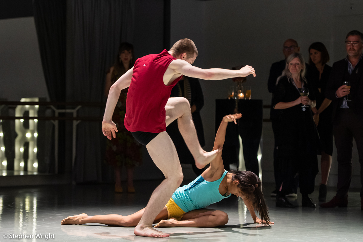 Rambert  host their Season Launch party with special performances by  Rambert  and  Rambert2