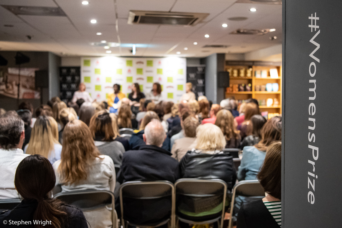 Women's Prize for Fiction  hosts panel discussions at the  Baileys Book Bar  in  Waterstones .